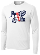 Run 4 Life ST350LS Long sleeve Moisture wicking T-shirt