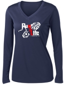 Run 4 Life ST353LS LADIES Long sleeve Moisture wicking T-shirt