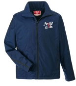 Run 4 Life Team 365 Adult Fleece lined Navy jacket TT72