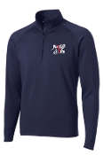 Run 4 Life Mens 1/2 zip pullover ST850