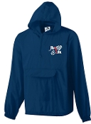 Run 4 Life Half zip Navy Jacket in a Pocket Aug 3130