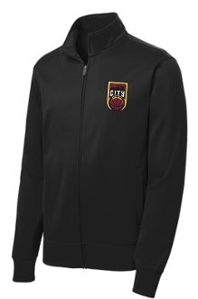 City Basketball Black Track jacket ST241