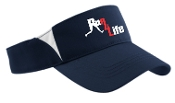 Run4Life  navy white visor STC13