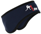 Run4Life Fleece wide Headband C916