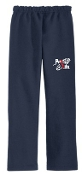 Run4Life Open Bottom Navy sweatpants G18400