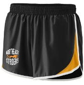 NE Striders Womens Track shorts Aug 1267