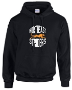 NE Striders Hooded sweatshirt 50/50 blend G18500