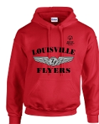 Louisville Flyers Hooded sweatshirt G18500