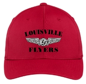 Louisville Flyers FLEXFIT Red hat STC17