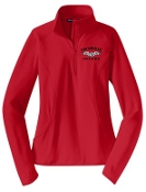 Louisville Flyers Ladies 1/2 zip  pullover LST850