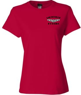 Louisville Flyers LADIES CUT Nano T shirt SL04