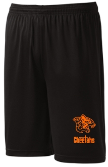 Louisville Cheetahs ST355 Black shorts orange printed