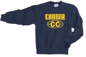 Carter Cross Country YOUTH Crewneck sweatshirt PC90Y