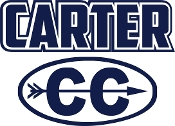 Carter Cross Country car decal