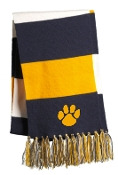 Carter Cross Country Embroidered Paw Print Scarf STA-02