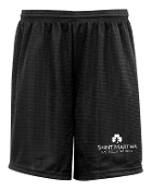St Martha 9 inch longer inseam PE mesh shorts ADULT ONLY