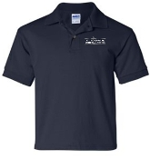 OSLS embroidered navy school polo 8800