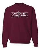 OSLS adult sized crewneck sweatshirt 562m