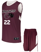 OSLS Boys Basketball uniform complete with jersey and shorts