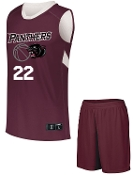 OSLS Girls Basketball uniform complete with jersey and shorts