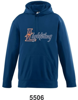 Lyndon Lightning Augusta Wicking Hooded Sweatshirt 5505/5506