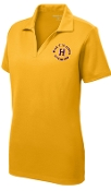 Louisville Male Alumni 50 Yr Club LADIES LST640 Gold emb'd polo