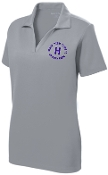 Louisville Male Alumni 50 Yr Club LADIES LST640 Silver embd polo