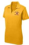 Louisville Male Alumni Hall of Fame LADIES LST640 Gold polo