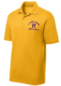 Louisville Male Alumni Hall of Fame MENS ST640 Gold polo