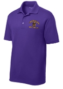 Louisville Male Alumni MENS ST640 Purple polo