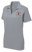 Louisville Male Alumni LADIES LST640 Silver polo