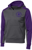 Louisville Male Alumni 50 Yr Club Purple Hooded 1/4 zip  ST249