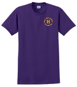 Louisville Male Alumni 50 Yr Club purple T G2000