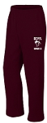 OCYFL Bandits Maroon Open Bottom sweatpants G184